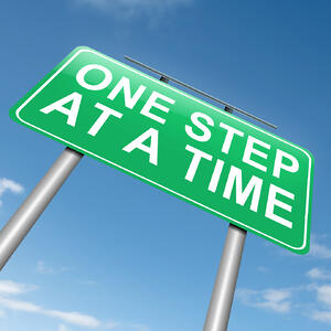 Taking your weight loss step by step, slowly but steadily produces more consistent, longer-lasting results.