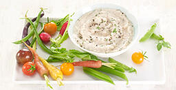 white bean Rosemary dip website
