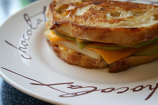 grilled cheese and pear image resized 600